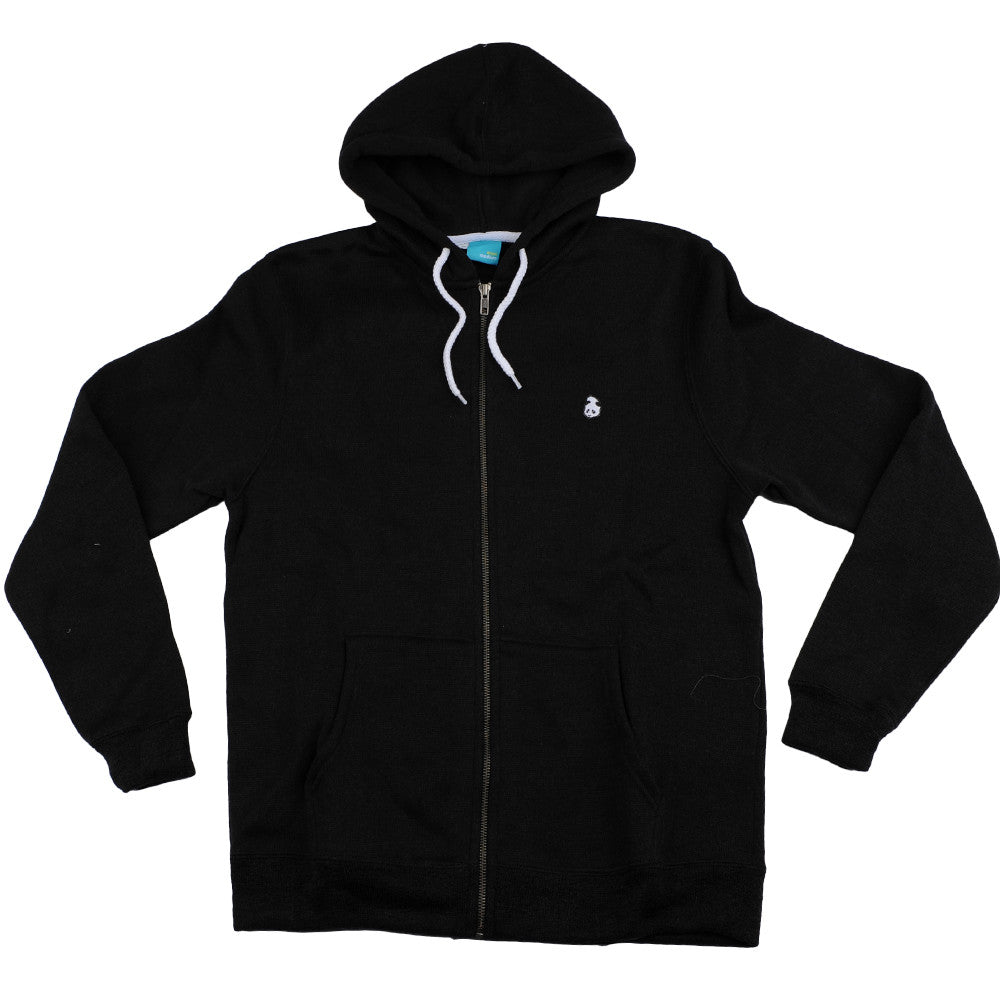 Enjoi Grip N' Zip Custom Fleece - Charcoal/Heather - Men's Sweathshirt