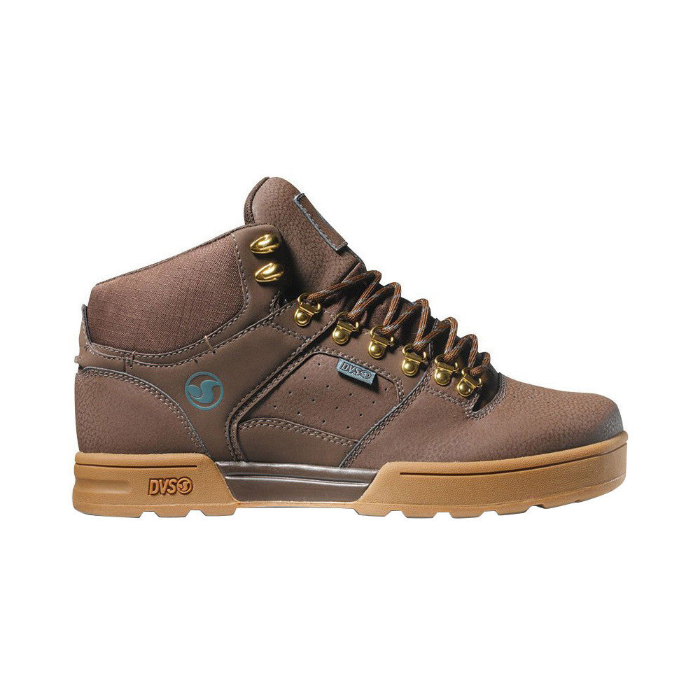 DVS Westridge - Brown/Gum Nubuck Snow 203 - Skateboard Shoes