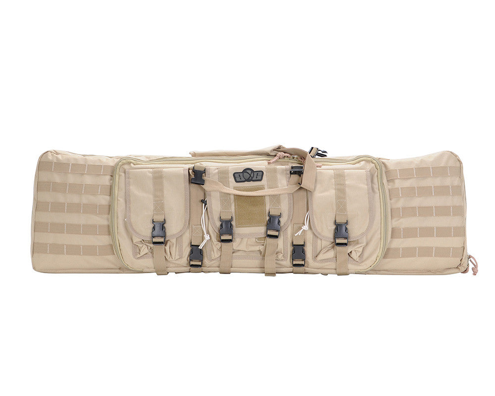 Gen X Global Deluxe Tactical Gun Bag - Khaki
