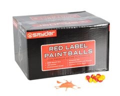 Kingman Red Label Paintballs Case 2000 Rounds - Orange Fill