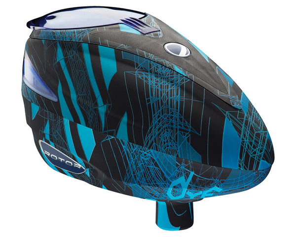 2013 Dye Rotor Paintball Loader - Cubix Cyan