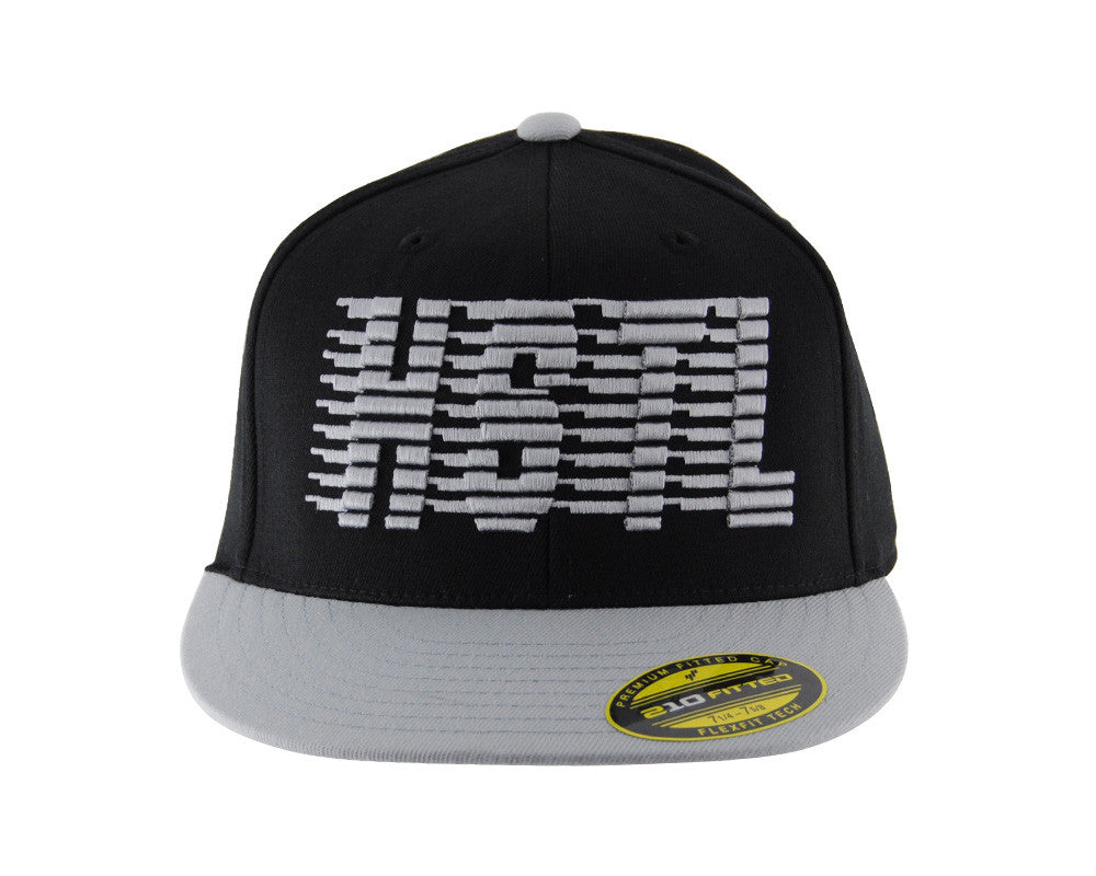 HK Army Flex Fit HSTL Hat - Black/Grey