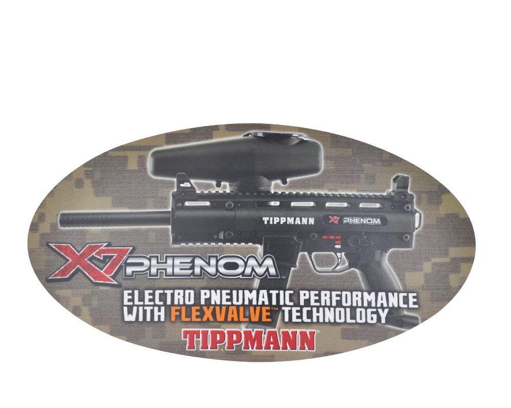 "Tippmann X7 Phenom Sticker - 15 1/2"" x 8 1/2"""
