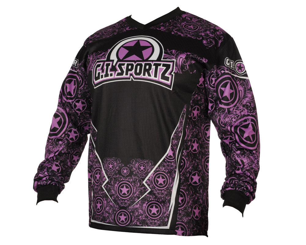 GI Sportz Herald Paintball Jersey - Purple