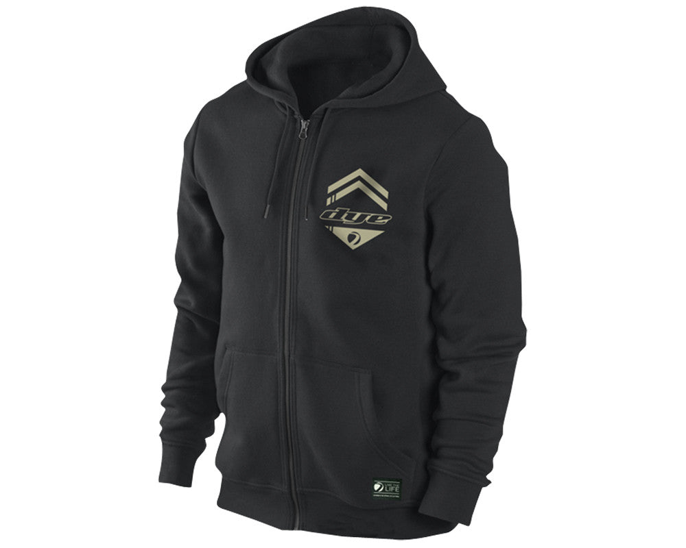 Dye 2013 Tactical Hooded Sweatshirt - Black