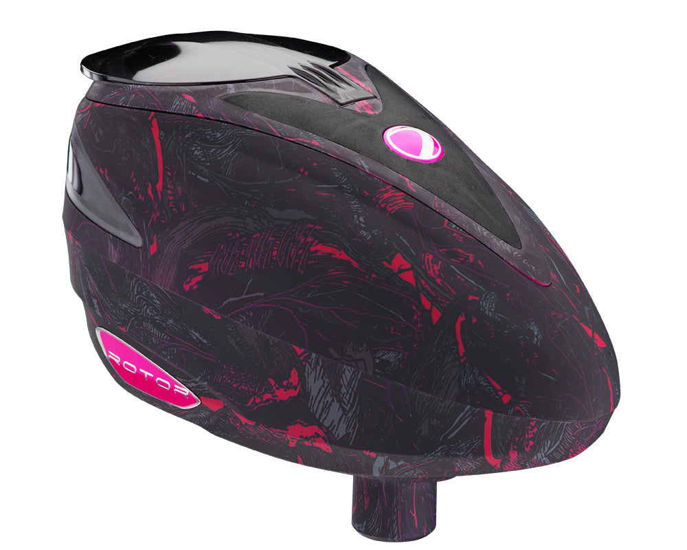 2013 Dye Rotor Paintball Loader - Dyetree Purple