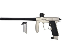 2011 Mokal Aura Paintball Gun - Dust Stainless/Dust Black