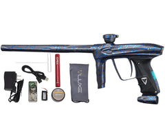 DLX Luxe 2.0 OLED Paintball Gun - 3D Splash Dust Charcoal/Blue