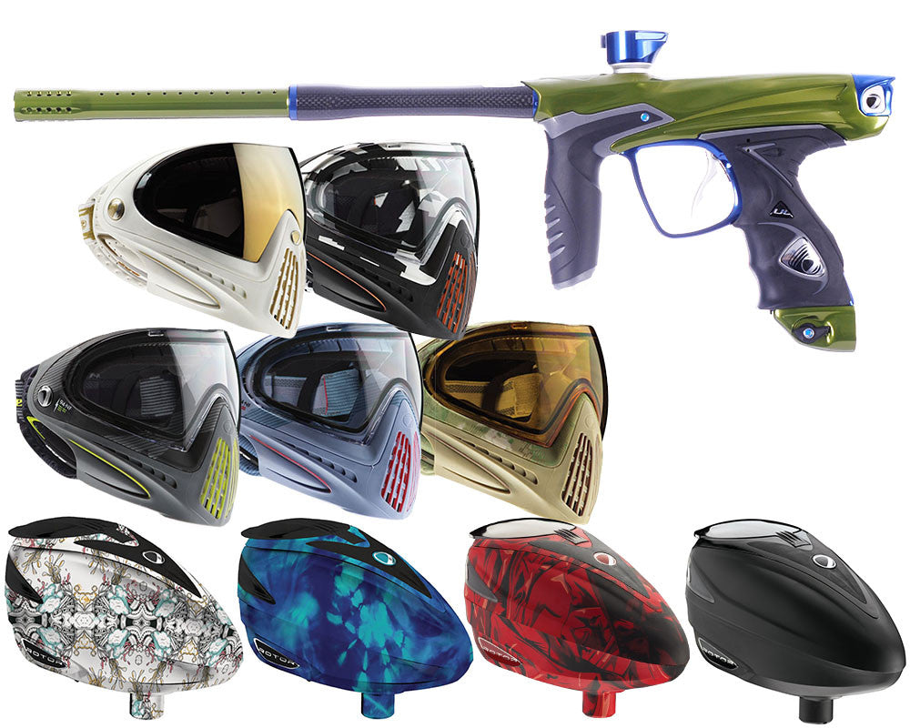 Dye DM14 XX Anniversary Edition Paintball Gun Combo Kit - Poison