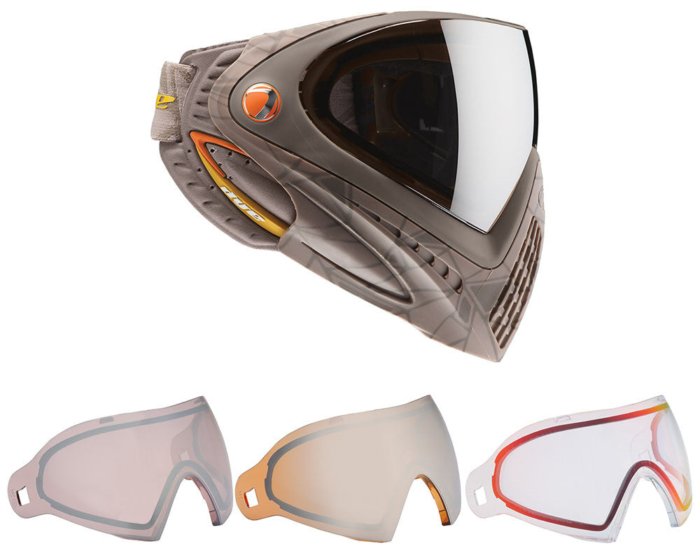 Dye Invision Goggle I4 Pro Mask w/ Free Lens - UL Orange