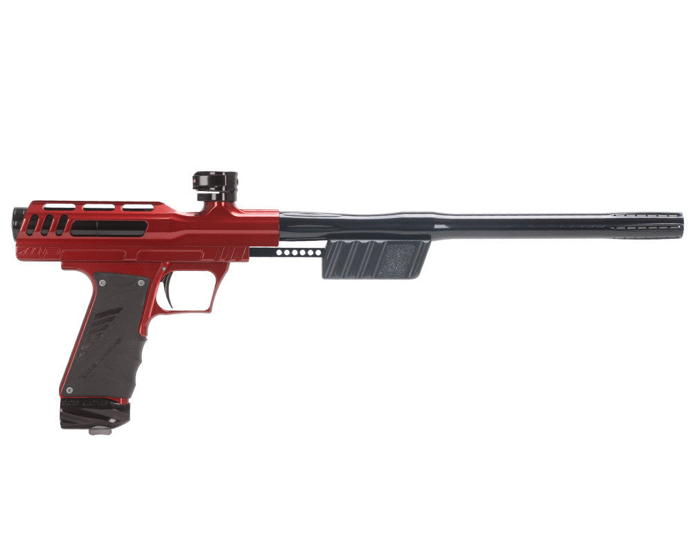 "Bob Long ""MVP"" Marq Victory Pump Paintball Gun - Red w/ Black"