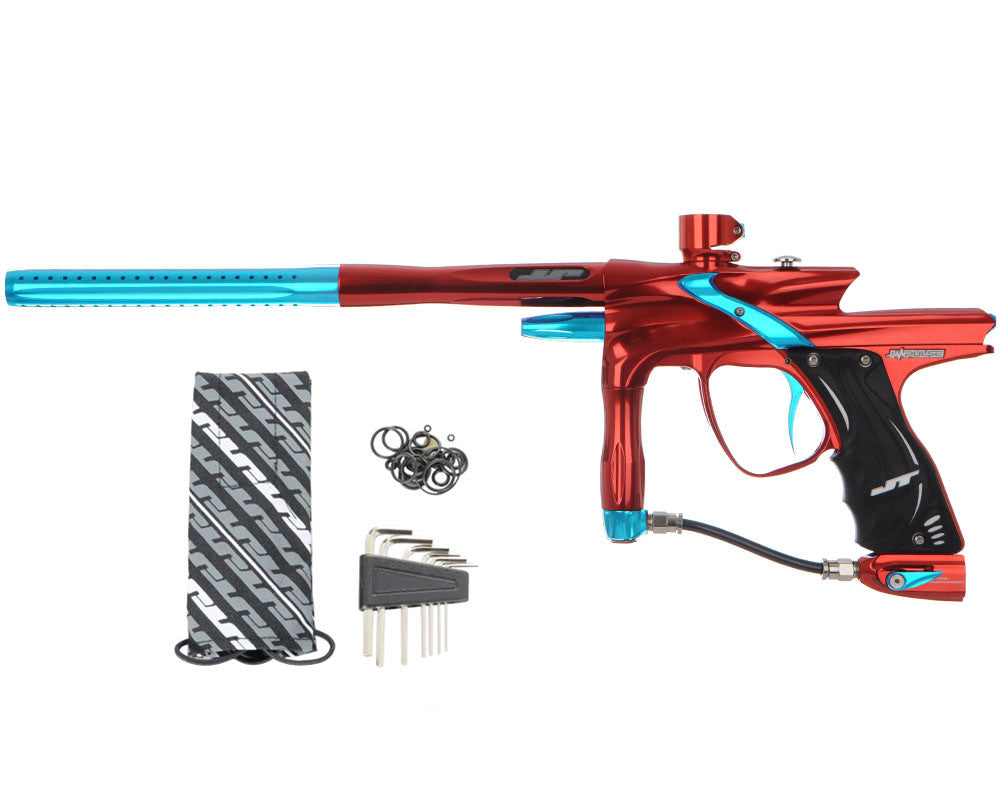 JT Impulse Paintball Gun - Red/Teal