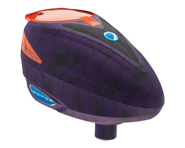 2014 Dye Rotor Paintball Loader - UL Purple
