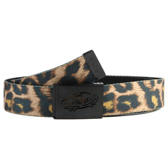 Vans Reverse Web - Black/Cheetah - Men's Belt
