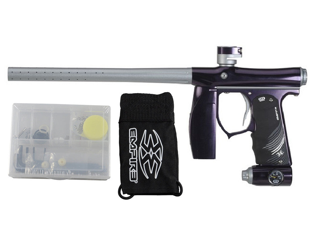 Empire Invert Mini S.E. Paintball Marker - Purple/Silver