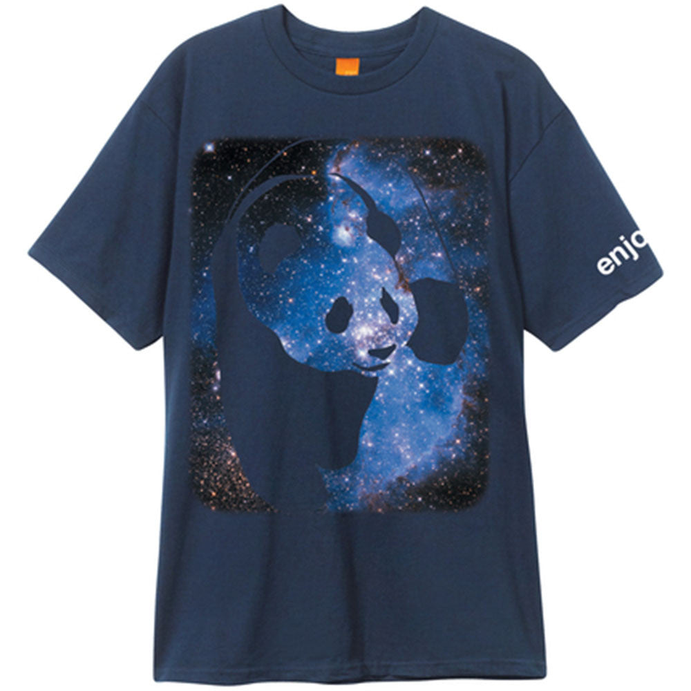 Enjoi Cosmos Panda S/S - Navy - Men's T-Shirt