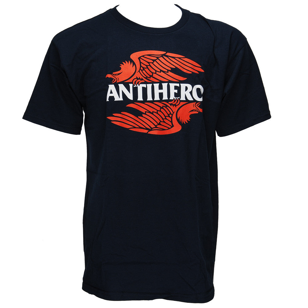 Anti-Hero AHXR S/S - Navy - Men's T-Shirt