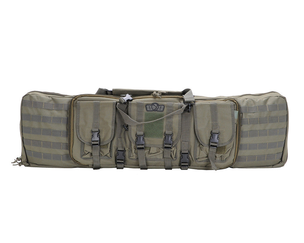 Gen X Global Deluxe Tactical Gun Bag - Olive