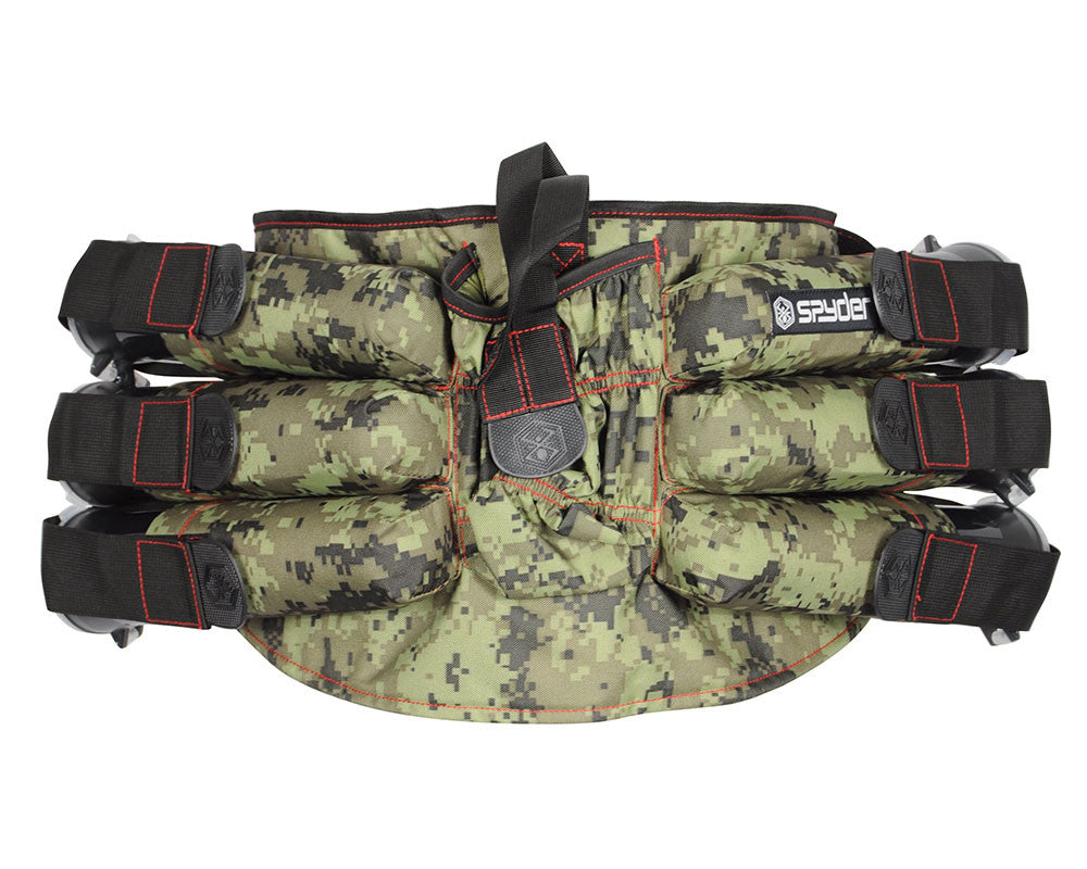 Kingman Spyder 6+1 Paintball Harness - Camo