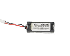 ANS Xtreme 9.6V 2000mAh NiMH Airsoft Battery - Aug