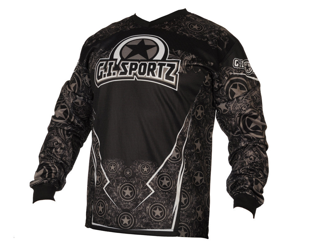 GI Sportz Herald Paintball Jersey - Grey