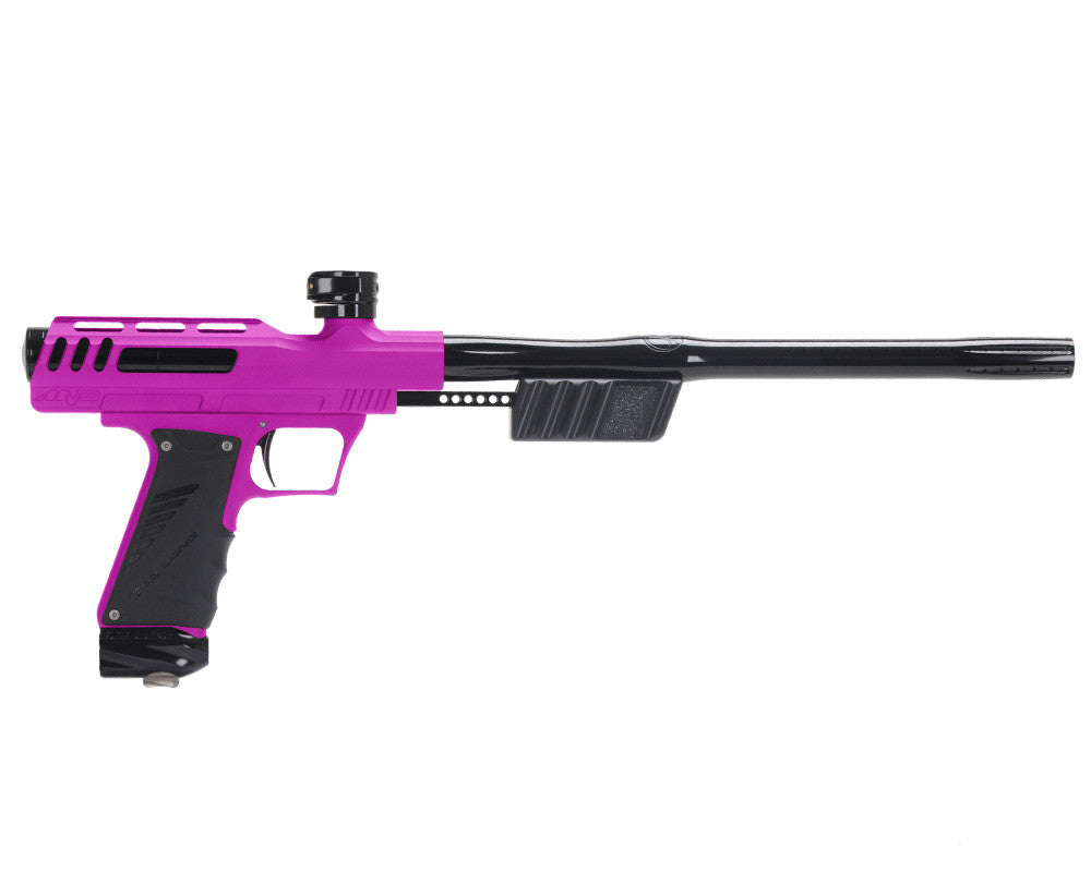 "Bob Long ""MVP"" Marq Victory Pump Paintball Gun - Dust Hot Pink w/ Black"