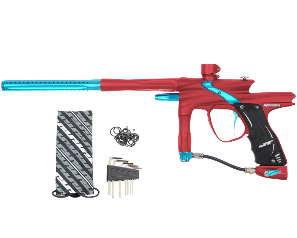 JT Impulse Paintball Gun - Dust Red/Teal