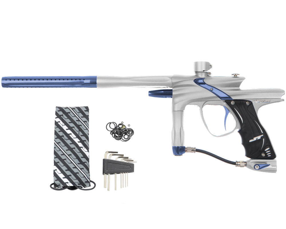 JT Impulse Paintball Gun - Dust Silver/Gun Metal