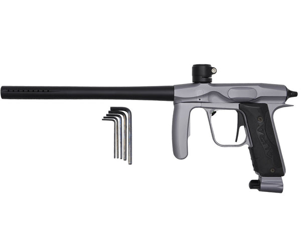 2011 Mokal Aura Paintball Gun - Dust Pewter/Dust Black