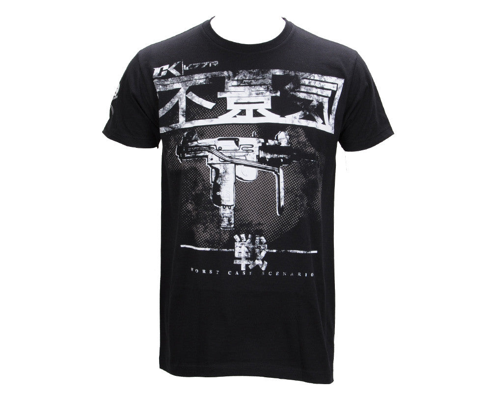 Contract Killer Hard Times T-Shirt - Black