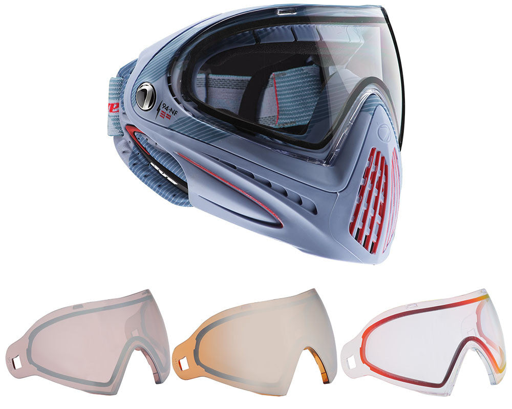 Dye Invision Goggle I4 Pro Mask w/ Free Lens - Bomber Steel