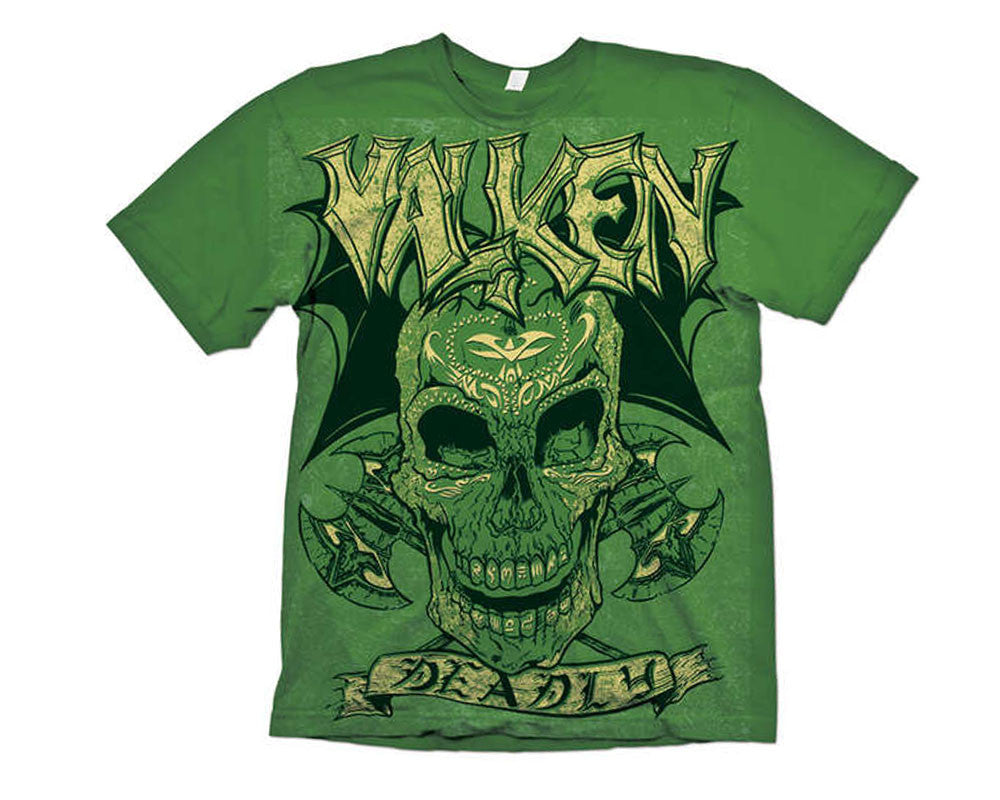 2012 Valken Paintball Deadly T-Shirt - Green