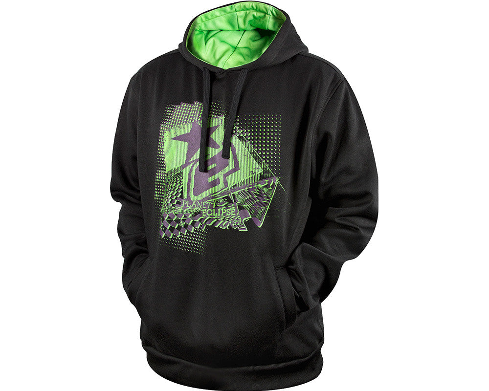 Planet Eclipse 2013 Crazed Hooded Sweatshirt - Charcoal