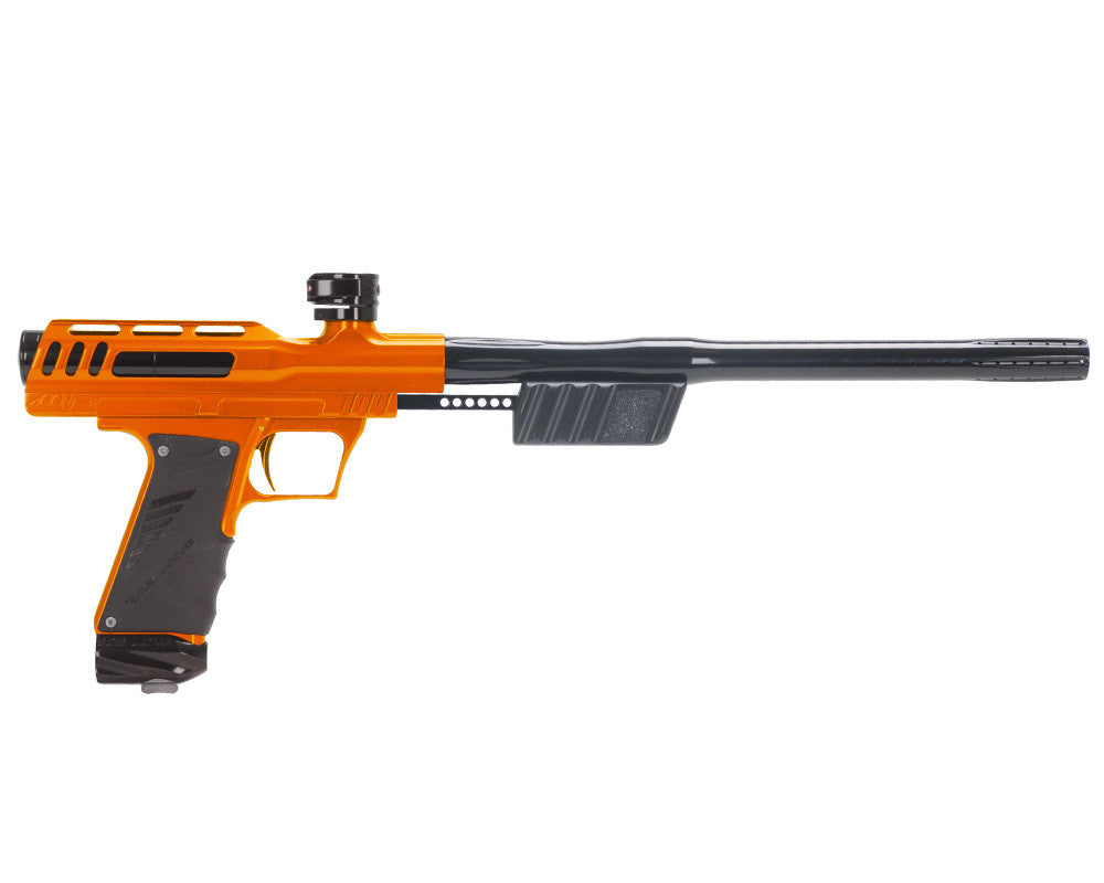 "Bob Long ""MVP"" Marq Victory Pump Paintball Gun - Orange w/ Black"