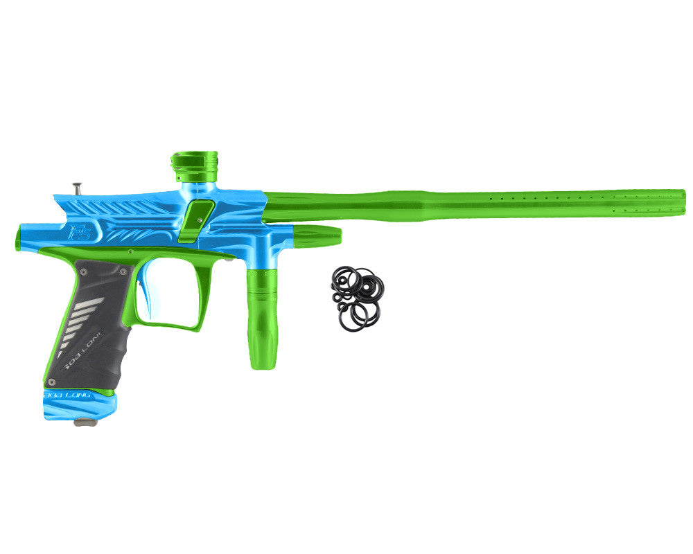 2012 Bob Long G6R F5 OLED Intimidator - Teal/Lime