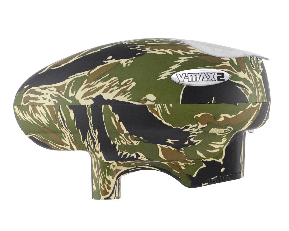 Valken V-Max 2 Paintball Loader - Tiger Stripe