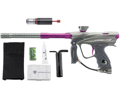 Dye DM13 Paintball Gun w/ CF Billy Wing Bolt - Graphite/Purple