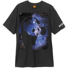 Enjoi Cosmos Panda S/S - Black - Men's T-Shirt