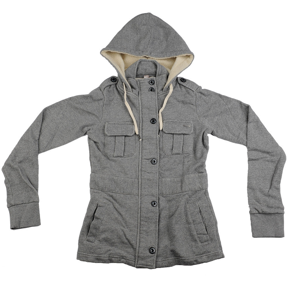 Element El Hood McKayla - Grey Heather - Women's Sweatshirt