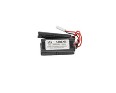ANS Xtreme 12V 2000mAh NiMH Airsoft Battery - Stagger Type