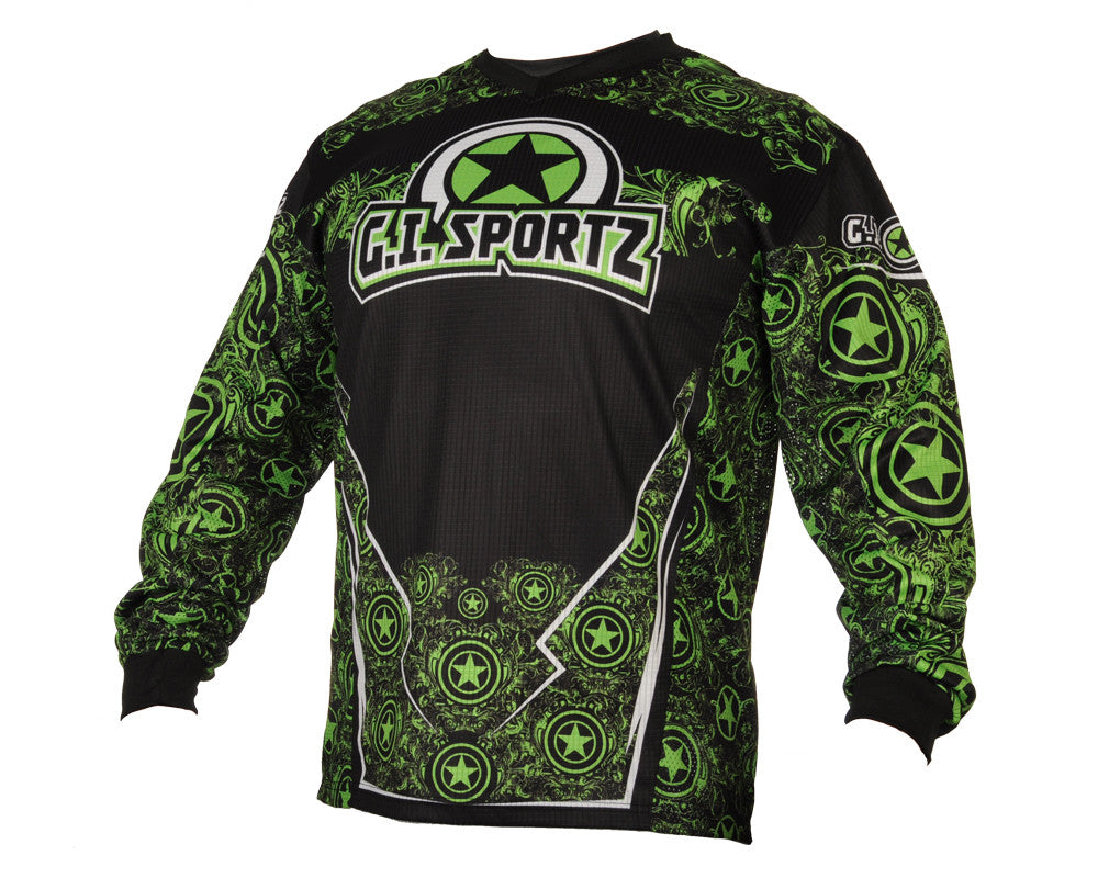 GI Sportz Herald Paintball Jersey - Green