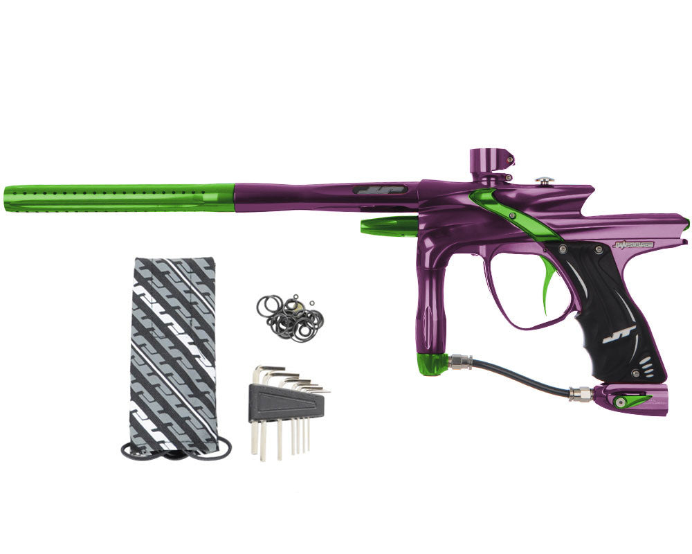 JT Impulse Paintball Gun - Eggplant/Slime