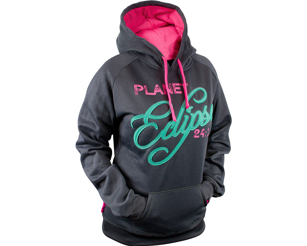Planet Eclipse 2013 Girls Abby Hooded Sweatshirt - Charcoal