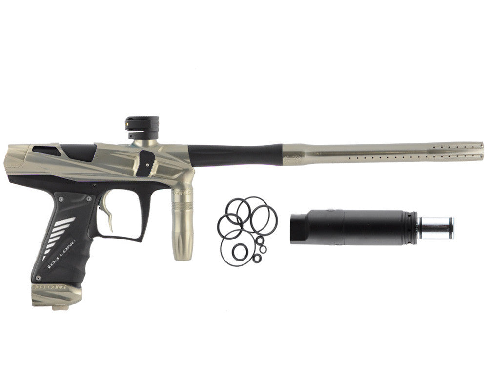 Bob Long Victory V-COM Paintball Gun - Khaki/Dust Black