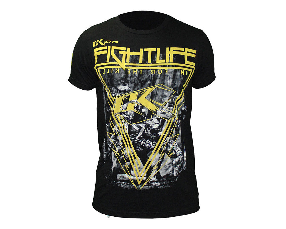 Contract Killer Off The Break T-Shirt - Yellow