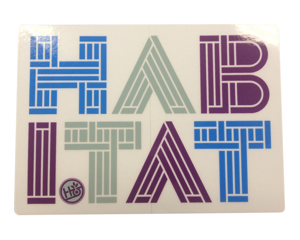 Habitat Linotype - Sticker