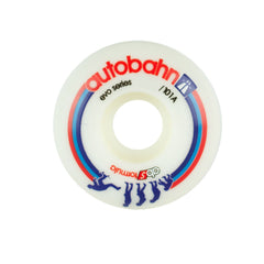 Autobahn Evolution - White - 53mm 101a - Skateboard Wheels (Set of 4)