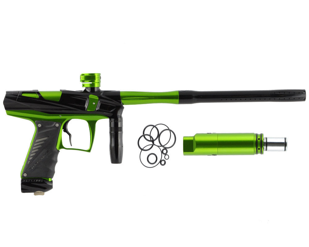 Bob Long Victory V-COM Paintball Gun - Black/Lime