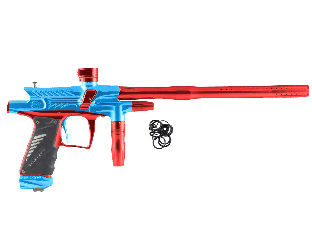 2012 Bob Long G6R F5 OLED Intimidator - Teal/Red