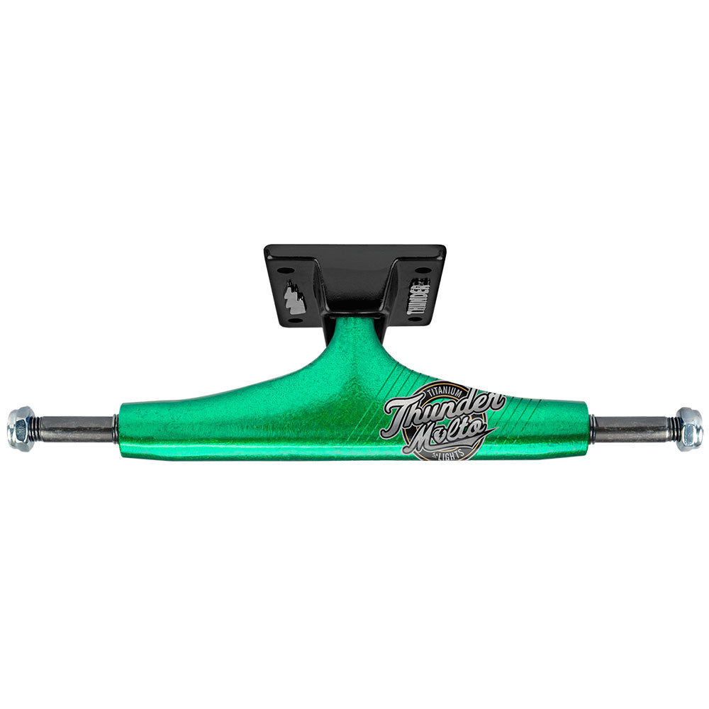 Thunder Malto All Star Titanium Light High - Green/Black - 145mm - Skateboard Trucks (Set of 2)